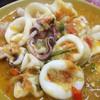 ปลาหมึกไข่ผัดพริกสด
