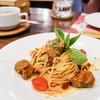 Spaghetti Spicy Pork Ball (210THB)